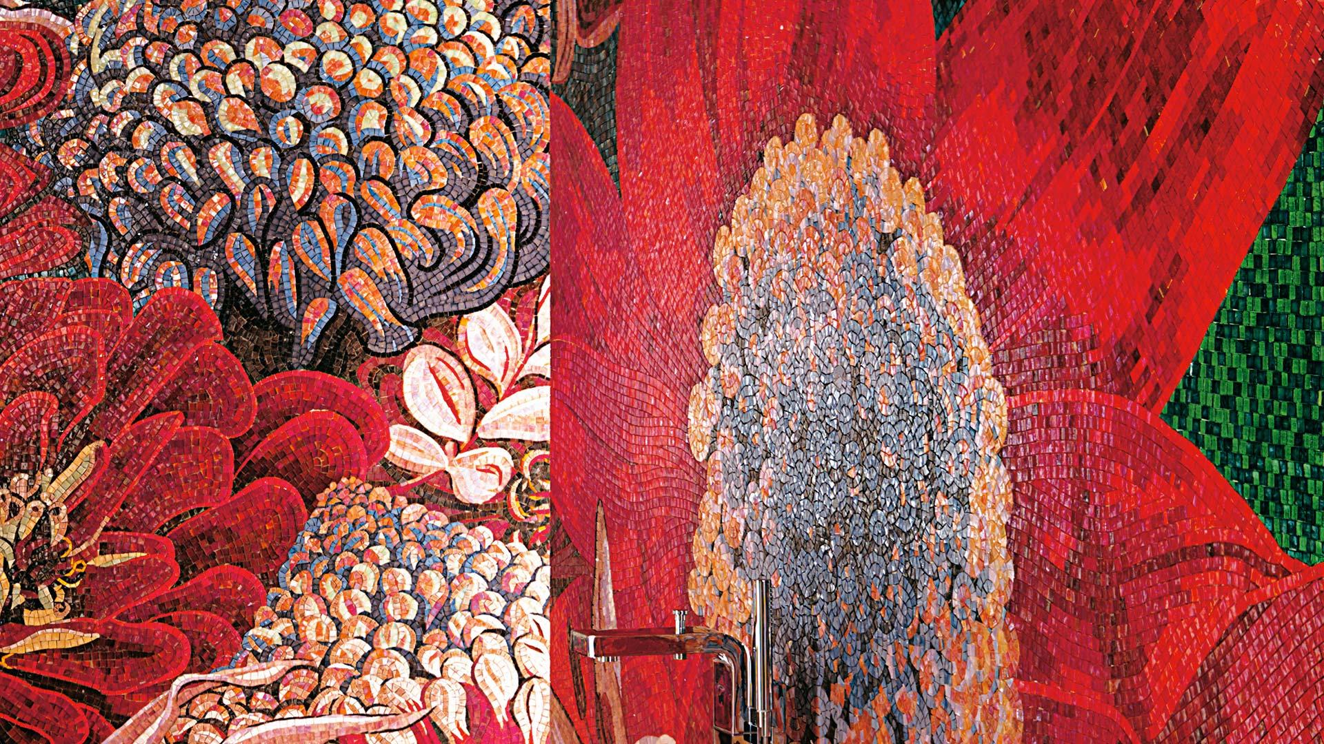 sicis mosaico flower power